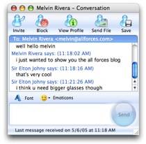 Msn Chat With Ichat