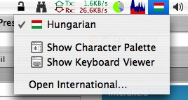 menubar keyboard viewer
